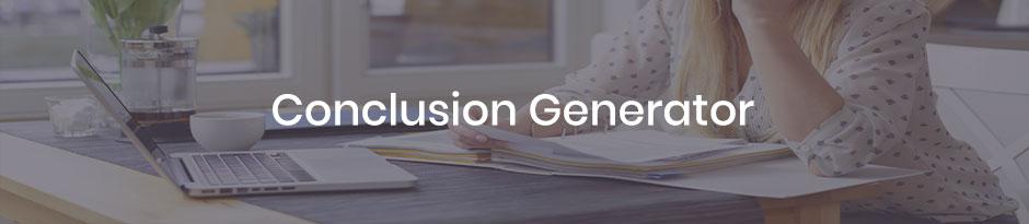 essay conclusion generator